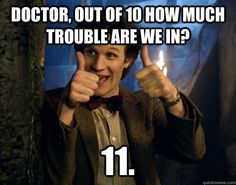 Who doesnt love a Doctor Who number joke?