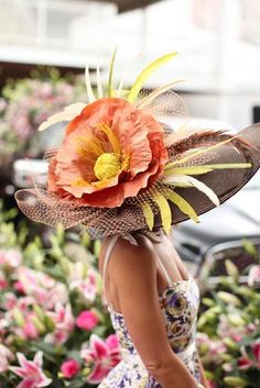 Derby Hats that are big & beautiful!