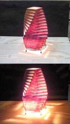Wooden Lamp Shade