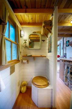 Tiny House Bathroom Composting Toilet