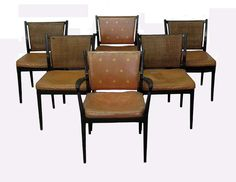 Set of 6 Mid-Century Dining Room Chairs image 2