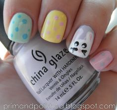 Easter nails - Cute!