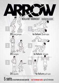 Arrow - Neila Rey workout - neilarey.com