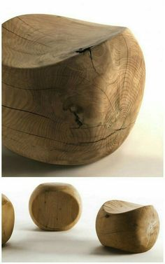 Wood seats or decorations