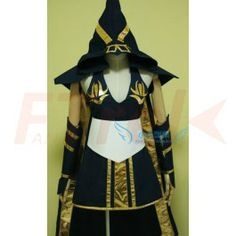 LOL League of Legends Cosplay Ashe Costume