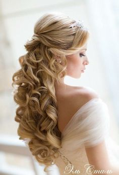 Prom hair!!! Curly long locks