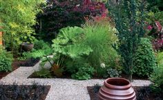 Bold spaces come about by emphasizing one facet of a design; displeasing gardens play up too many. | Fine Gardening
