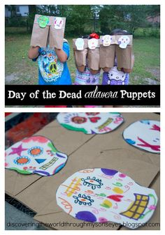 Calavera Puppets | Multicultural Kid Blogs