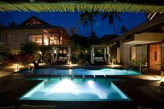 Bask in the tropical sun on Nusa Dua Beach and unwind with a stay at a hotel boasting scenic gardens, restaurant, and bar Nannai Resort & Spa, Butler Service, Park Hotel, Bali, Tropical, Restaurant, Mansions, Night, House Styles