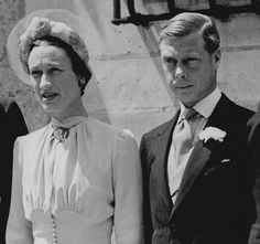 Edward VIII and Wallis Simpson, later the Duke and Duchess of Windsor.