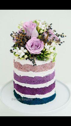 Sweet Empire Purple cake