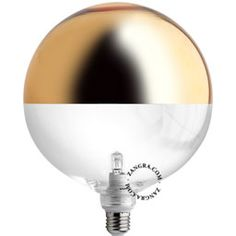light bulb 'XXL mirror crown' gold