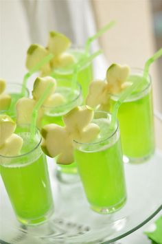 Creative St Patrick's Day drinks!
