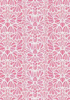 Dasia Wallpaper, Daring Chiffon, designed by Maruja NYC and featured on Guildery