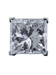 Boucles d'oreilles Montega - Elie Chatila, or blanc, diamants, BOR 800.410
