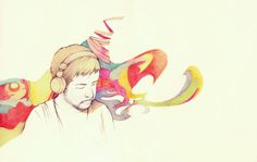 Another Reflection by ParadigmTradition #nujabes #art #fanart #pencil
