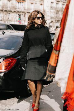 Spring 2017 Street Style Trend, Minimalist Style -  Sweatshirt