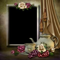 Tea Frame by collect-and-creat on DeviantArt