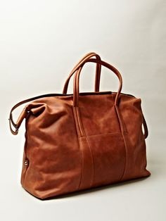 Maison Martin Margiela MAISON MARTIN MARGIELA 11 MEN'S LEATHER WEEKEND BAG