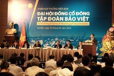 ĐHĐCĐ Tập đoàn Bảo Việt: Kế hoạch cán mốc doanh thu hợp nhất 1 tỷ USD vào năm 2016