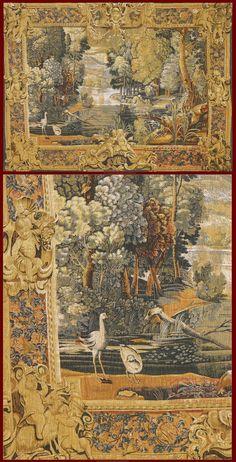Tapestry De Rambouilletcm 198 x 146ft 6'5 x 4'8    Cod:: 141436543664