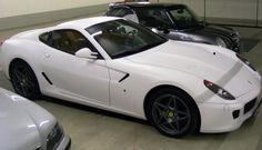 Matte White Ferrari 599 GTB Pictures | CarZi -