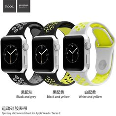Hoco Soft Silicone Sport Band for Apple Watch Nike+ and Apple Watch