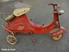 toy vespa pedal