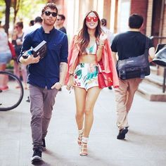 11 Fashion Bloggers With The Cutest Boyfriends via @WhoWhatWear