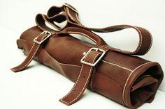 Leather Knife Bag