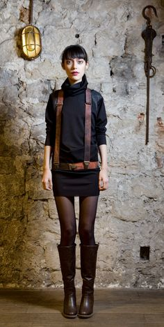 Suspenders belt adjustable hand dyed by EONParis on Etsy, $109.00