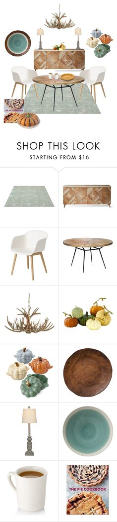 """Pumpkin Pie"" by tclillis ❤ liked on Polyvore featuring interior, interiors, interior design, home, home decor, interior decorating, Muuto, Pottery Barn, Home Decorators Collection and Martha Stewart"