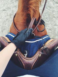 Deze pin heb ik gekozen, omdat ik dit een leuke foto vind, omdat ik deze foto ook wel eens maak van mijn paard.