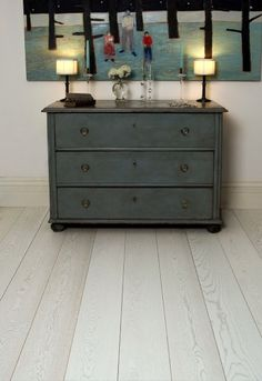 Natural Wood Floor Co. Oak Pure White Pre-lacquered. Engineered 210mm