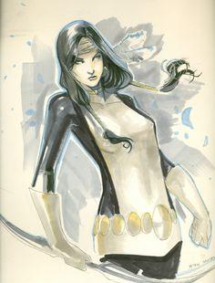 Danielle Moonstar by Peter Nguyen Comic Art