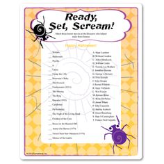 halloween movie and monster trivia games tips on planning and set up halloween trivia games based on scary movies - Halloween Monster Trivia