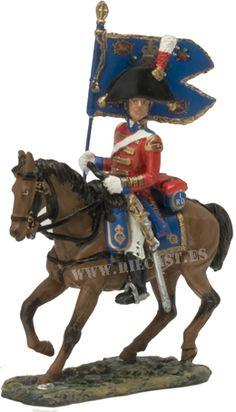 Standard Bearer, Household Cavalry 1815, 1:30, Del Prado