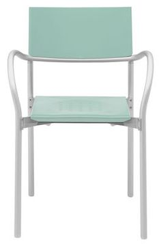 Breeze Armchair - Outdoor / Satined alu Satined alu  - Mint by Segis - Design…