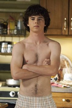 Thank you, Charlie McDermott for being half naked every Wednesday at 8pm!  #themiddle