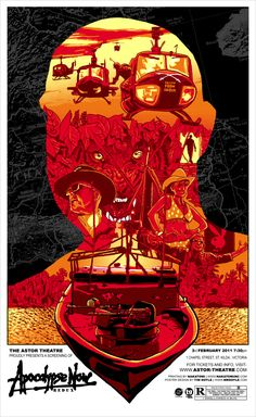 Apocalypse Now! One of the reasons I wanted to make movies. It blew my mind.