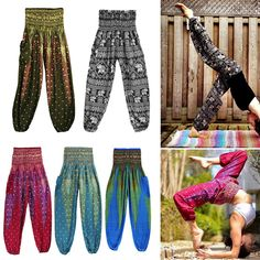 Women Ali Baba Aladdin Harem Baggy Hareem Trousers Ladies Boho Pants Plus Size To Adopt Advanced Technology Trousers