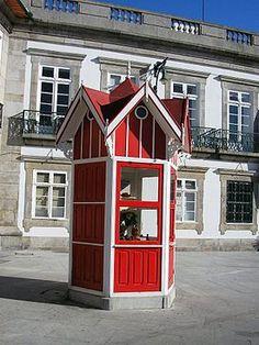 Garden Structures, Outdoor Structures, Guard House, Amusement Park Rides, Shops, Most Beautiful Cities, Kiosk, Portuguese, Gazebo