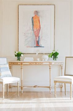 Interior by Mary Douglas Drysdale