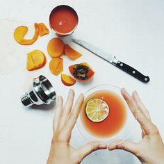 (RECIPE) Ginger Spiced Persimmon Cocktail – Sakara Life