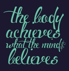 What you think about most of the time is what you become. #Fitness Matters