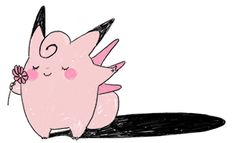 Pokemon - Clefairy and Gengar