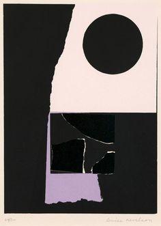 Louise Nevelson - Mauve Fringe   1972