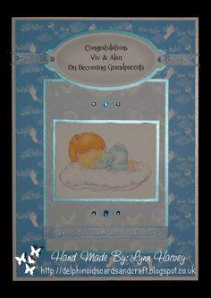 A5 Card - New Grandparents