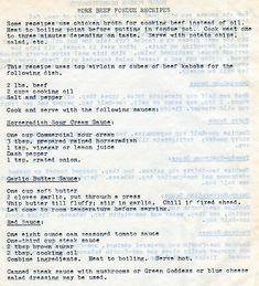 More Beef Fondue Recipes