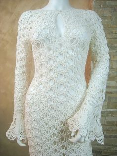 JULIET - CROCHET WEDDING DRESS MADE BY HAND IN SPAIN ...an exclusive made by…